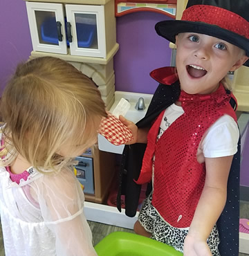 Dramatic Play Learning Centers at La Casita Learning Center