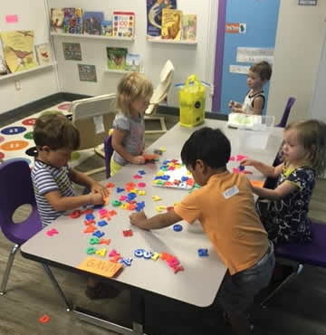 Mathematics Learning Centers at La Casita Learning Center